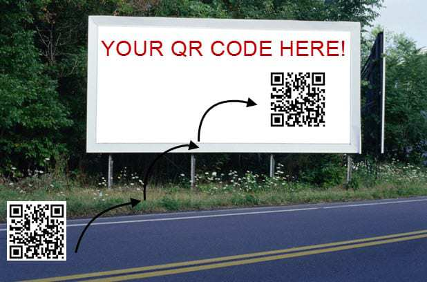 QR Code Billboard Helps Business