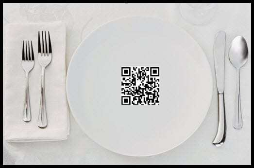 QR codes restaurants