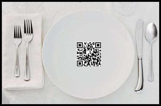 QR codes restaurants