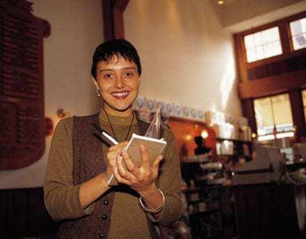 Restaurants using QR codes mobile payments