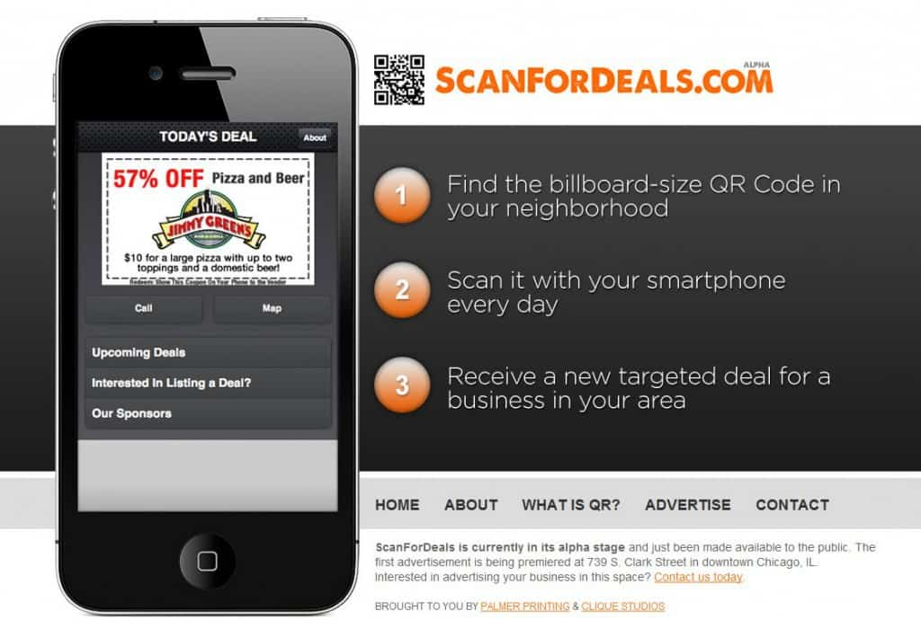 Scanfordeals Website