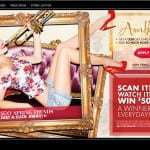 Fashion retailer launches QR Code Campaign