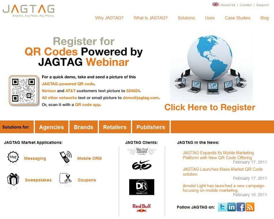 JAGTAG Website