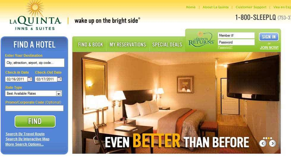 LaQuinta Inn Using QR Codes