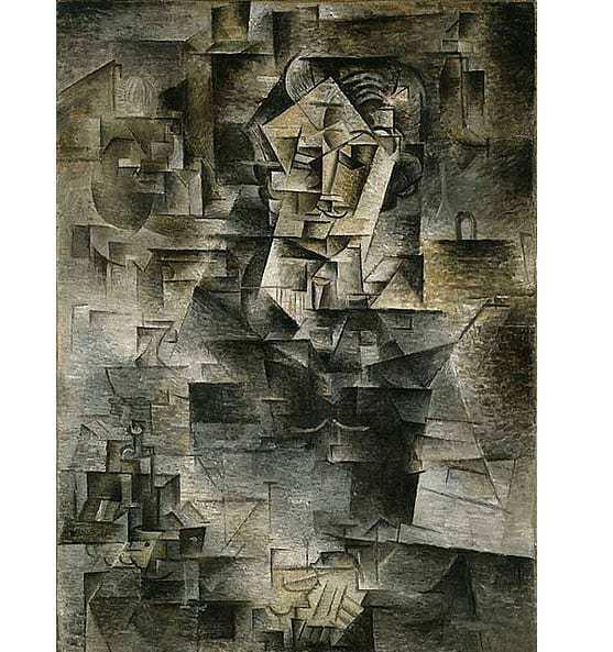 Portrait of Daniel-Henry Kahnweiler, Picasso 1910