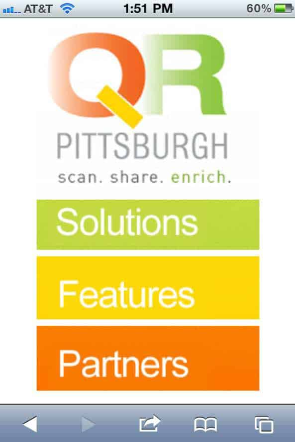 A Good Looking Mobile Site for Promobile Solutions