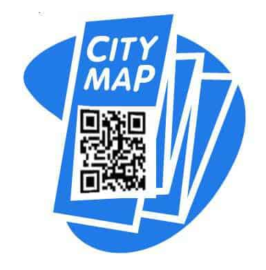 City Maps Use QR Codes