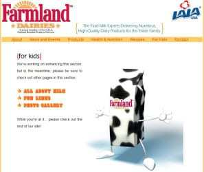 Farmland Daries Website qr codes