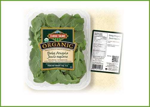 Classic Salads QR Code Campaign