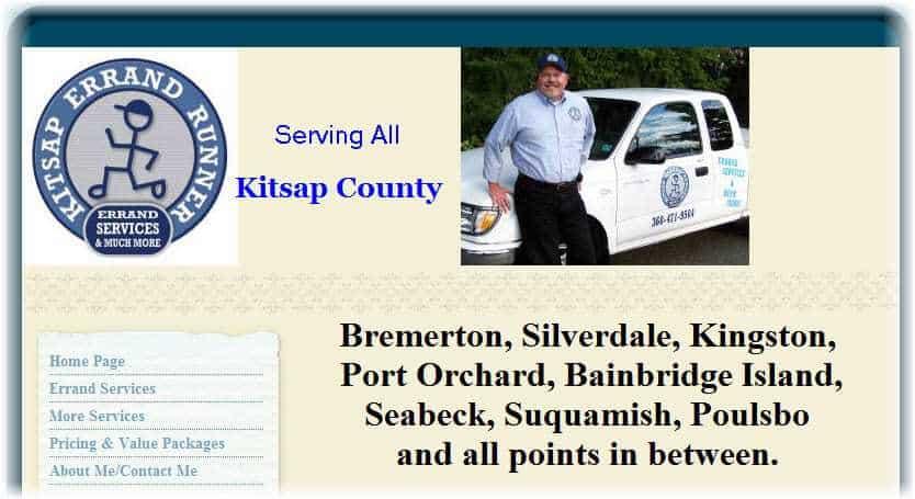 Kitsap Errand Runner Website