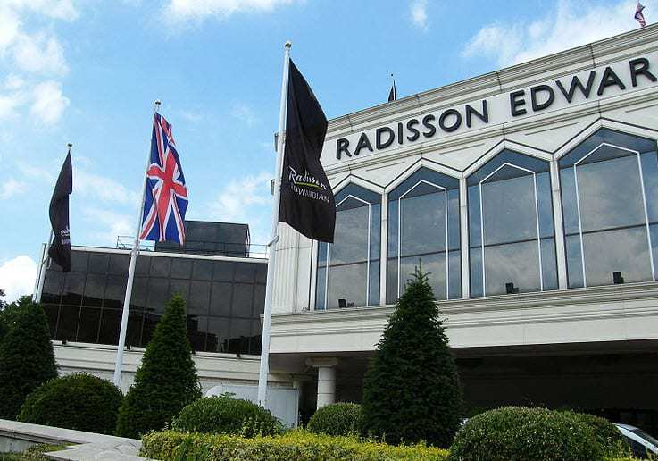 Radisson Edwardian Hotel Chain QR Code Campaign
