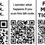 QR code one liners