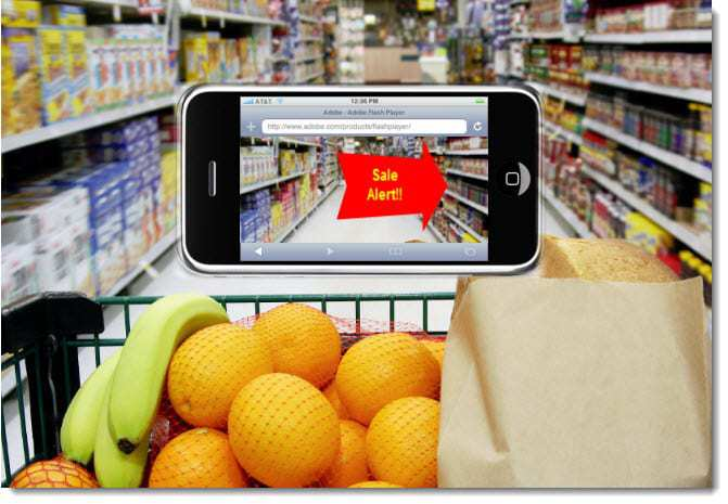 Example of Augmented Reality Shopping
