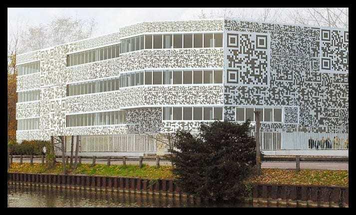 MVRDV QR Code Building