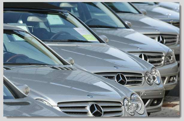 QR Code scanning mercedes benz cars