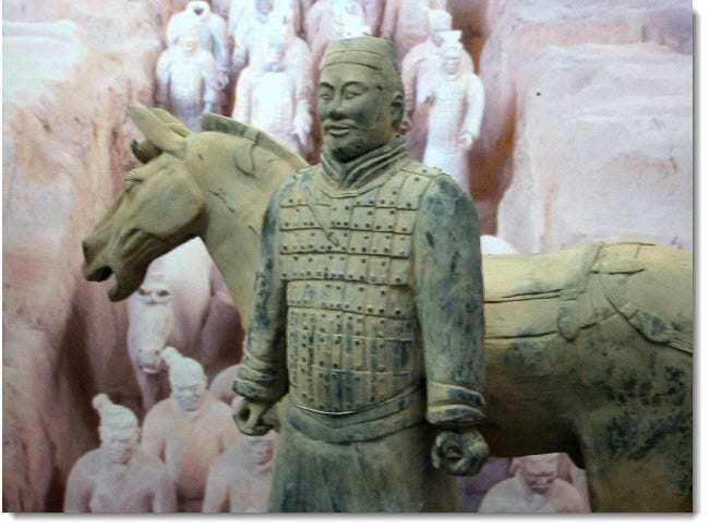 China's Terracotta Army Augmented Reality