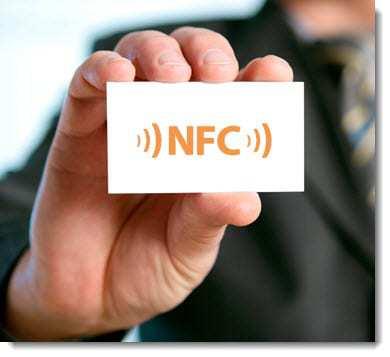 World's first NFC business cards QR Code Press