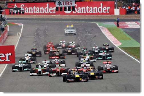 Britain S F1 Grand Prix Is Packed With Qr Codes Looking For Spectator Feedback Qr Code Press