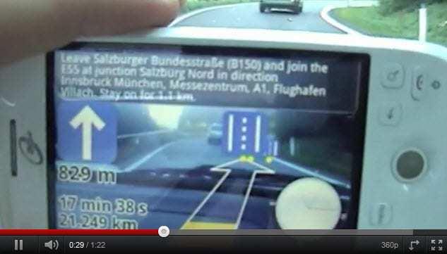 Wikitude Drive Video