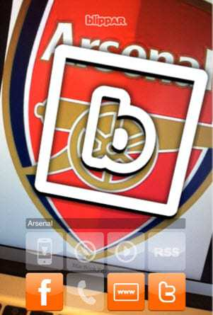Blippar augmented reality Mobile App