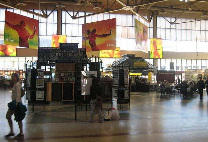 Boston Amtrak Station