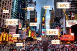 Mobile payments using NFC technology will reach 300 million users in 3 years
