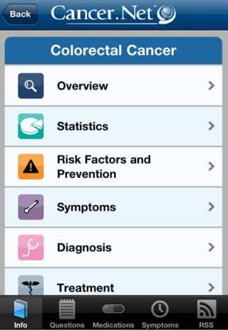 Cancer Mobile App