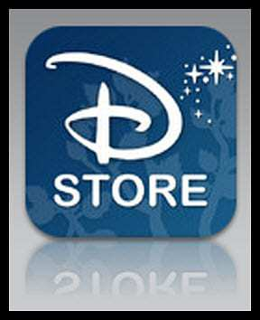 Disney Store ipad App mobile games