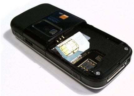 Example of SIM Card wearable technology