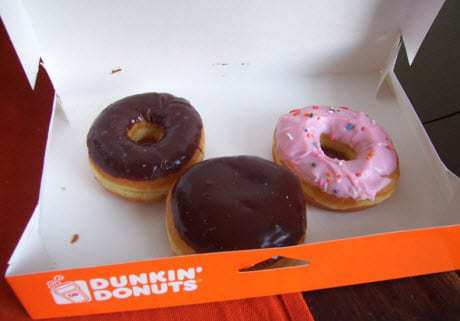 Mobile payments App for Dunkin Donuts