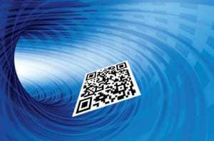 QR codes used in Xiamen Airport for check-in service