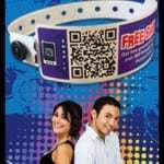 QR coded wristbands from Precision Dynamics