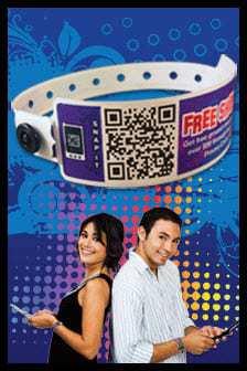 QR Code Wristbands