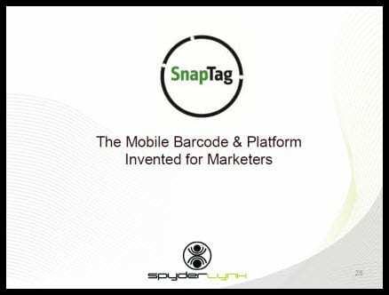 Snaptag-Barcodes