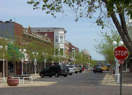 St. Joseph, Michigan Downtown