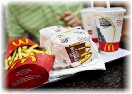 McDonalds QR codes
