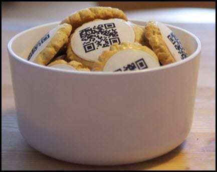 QR codes Cookies