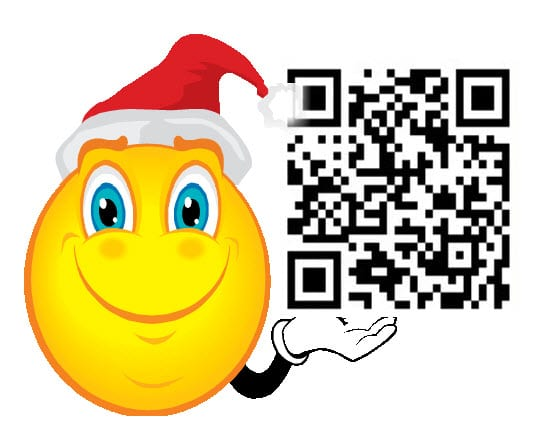 This holiday season will include QR codes