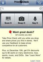 Amazon launches Price Check mobile app to provide consumers with discount opportunities