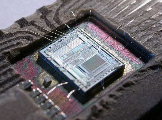 Intel 8742 chip wearable technology