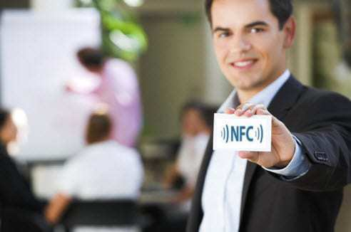 NFC Technology Business Cards