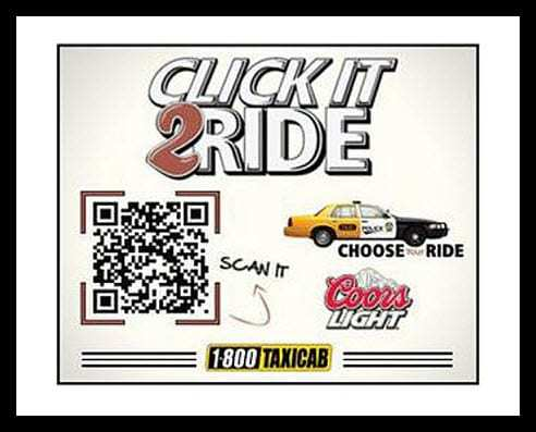 QR Code Call for a Cab