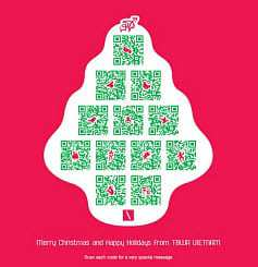 QR Codes Christmas mobile marketing