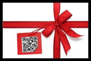 The 2011 holiday experience includes QR codes