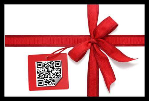 QR Code Gift Tags