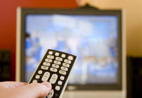 QR Codes on TV