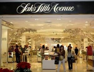 Saks Fifth Avenue brings m-commerce to its holiday window display