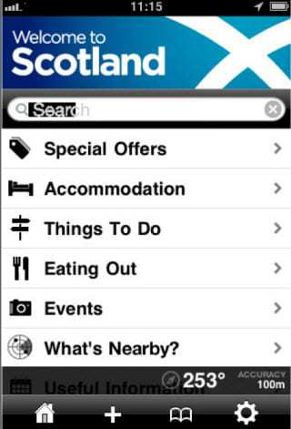 Welcome to Scotland App