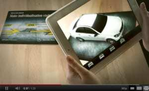 Mercedes-Benz magazine gets augmented reality makeover