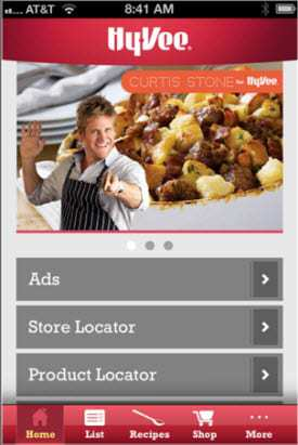 Hy-Vee Mobile Shopping App